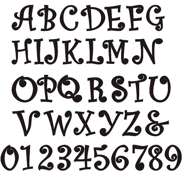 Download Free Font Curlz MT
